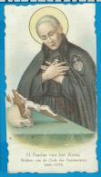 Holycard     St.  Paulus Van Het Kruis - Devotion Images