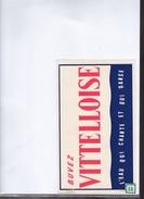 Buvard  Vitteloise Eau - Buvards, Protège-cahiers Illustrés