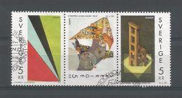 Sweden 1993 Europa Modern Art Strip Y.T. 1756/1758  (0) - Sweden