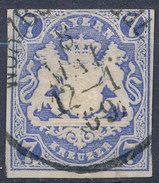 Stamp Bavaria 1867 7kr Used Lot #16 - Bavaria