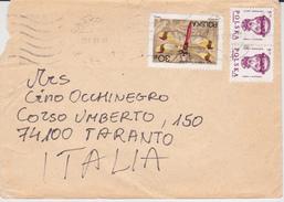 POLONIA BUSTA 1988 VARI VALORI DA CRACOVIA - 1944-.... Repubblica