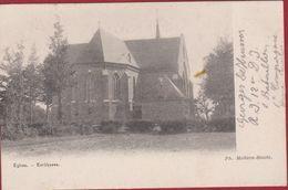 Eglise De Kerkhoven 1919, Edit. Ph. Mahieu-Smets Lommel Limburg ZELDZAAM (vlekje) - Lommel