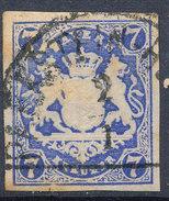 Stamp Bavaria 1867 7kr Used Lot #19 - Beieren