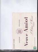 Buvard  Vin   Saumur    Mousseux   Veuve Amiot - Buvards, Protège-cahiers Illustrés