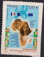 2010 Frankreich  Mi. 4958**MNH Selbstklebend;  50 Jahre Unabhängigkeit Von 14 Früheren Französischen Kolonien In Afrika. - France