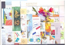 2008. Kazakhstan, Complete Year Set 2008, 21v + 1 S/s, Mint/** - Kazachstan
