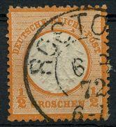 Nr. 14 Gestempelt Klarer K 2 - Michel 65 € - Deutschland