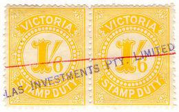 (I.B) Australia - Victoria Revenue : Stamp Duty 1/6d - Australia