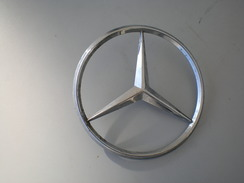 Mercedes Benz A Sign From A Car Or A Truck - Automotive