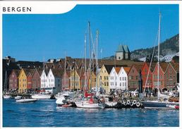 1 AK Norwegen * Bergen - Ansicht Von Bryggen - Seit 1979 UNESCO Weltkulturerbe * - Noruega