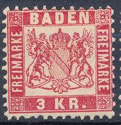 Stamp Baden 1868 3kr  Mint Lot#5 - Bade