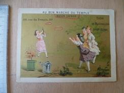 CHROMO  ENFANT JEUX - Au Bon Marché