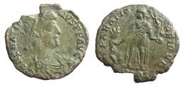 [H] +++ AE2 -- GRATIAN -- Aquilea - Emperor Reverse +++ - 8. Der Spätrömanischen Reich (363 / 476)