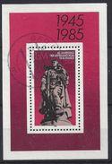 Germany (DDR) 1985 40 Jahre Befreiung Vom Faschismus  (o) Mi.2945 (block 82) - DDR
