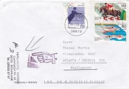 Germany 1996 Atlanta Olympic Games - Posted To Olympic Village - Returned. Philatelic (T13-38) - Summer 1996: Atlanta