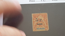LOT 373497 TIMBRE DE COLONIE REUNION NEUF* N°52 - Nossi-Bé (1889-1901)