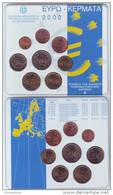 Plaquette Officielle GRECE 2002  - 8 PIECES - NEUVE - Grecia