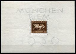 19135) DEUTSCHES REICH Block 4 Postfrisch Aus 1936, 32.- € - Germany