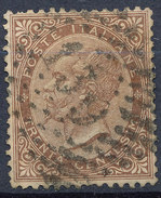Stamp Italy 1863 Used Lot#13 - 1861-78 Vittorio Emanuele II