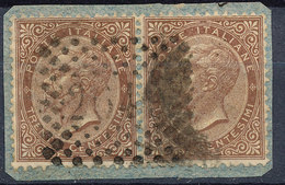 Stamp Italy 1863 Used Lot#14 - Used
