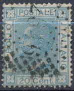 Stamp Italy 1867 Used Lot#16 - 1861-78 Vittorio Emanuele II