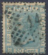 Stamp Italy 1867 Used Lot#18 - 1861-78 Vittorio Emanuele II