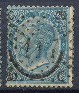 Stamp Italy 1865 Used Lot#23 - 1861-78 Vittorio Emanuele II