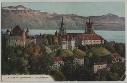 Lausanne - Le Chateau La Cathedrale Et Les Alpes - Photo: Jullien Freres No. 18A - VD Vaud