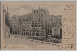 Souvenir De Lausanne - Sellerie, Photographie, Maison Mercier, Animee - VD Vaud