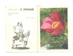 Petit Calendrier 1964 - Charcuterie LE BERRIGAUD à NANTES, Cochon (Fr55) - Petit Format : 1961-70