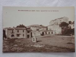 SAINTE-MAXIME-SUR-MER - Quartier De La Batterie - CPA - CP - Carte Postale - Sainte-Maxime