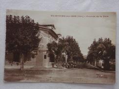 SAINTE-MAXIME-SUR-MER - Avenue De La Gare - CPA - CP - Carte Postale - Sainte-Maxime