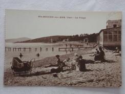 SAINTE-MAXIME-SUR-MER - La Plage - CPA - CP - Carte Postale - Sainte-Maxime