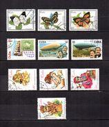 Cuba   2000  .-   Y&T  Nº   3852-3854/3855-3859-3870/3871-3877/3879-3881 - Cuba