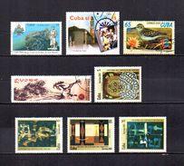 Cuba   2001-02  .-   Y&T  Nº   3942-3951-3983-4023-4062/4065 - Cuba