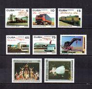 Cuba   2003  .-   Y&T  Nº   4080/4084-4098-4131/4132 - Cuba