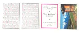 """Petit Calendrier 1967  - Librairie, Papeterie, Journaux """" Don Quichotte """" E. DERRIEN à NANTES  (Fr55) - Calendriers"""