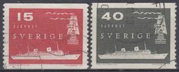 SUECIA 1958 Nº 427/28 USADO - Sweden