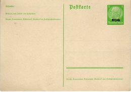 Elsaß Ganzsache 1940 P 1 [150913KImult] @ - Allemagne