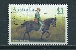 1986 Australia $1.00 Horse,pferd,paard Used/gebruikt/oblitere - 1980-89 Elizabeth II