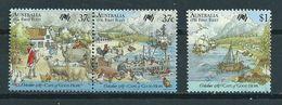 1987 Australia Complete Set Colonisation Used/gebruikt/oblitere - 1980-89 Elizabeth II