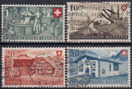 SUIZA 1946 Nº 428/31 USADO - Suiza