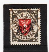 HIT267 DANZIG 1924  Michl  DIENST  46  Used / Gestempelt  SIEHE ABBILDUNG - Danzig