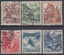 SUIZA 1948 Nº 461/66 USADO - Suiza