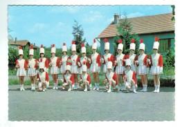 """19154  CPM  AUDUN LE ROMAN  ; Les """" Eglantines De Lorraine """" , Majorettes  !! Superbe Carte Photo ! - Francia"""