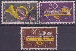 SUIZA 1949 Nº 471/73 USADO - Suiza