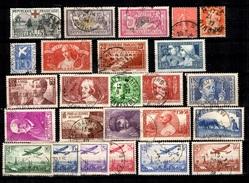 France Belle Petite Collection D'anciens Oblitérés 1900/1940. Bonnes Valeurs. B/TB. A Saisir! - France