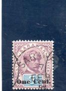 SARAWAK 1889-92 O - Sarawak (...-1963)
