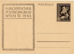 Drittes Reich 1942 Ganzsache Mi P 295, Postkongreß Wien [220814KI] - Alemania