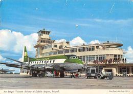 "06884 ""AER LINGUS - DUBLIN AIRPORT"" AEREO, ANIMATA.  CART  SPED 1963 - 1946-....: Moderne"